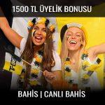 Trbet 1500 tl üyelik bonusu veriyor