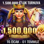 Trbet 1.500.000 euro ödüllü turnuva
