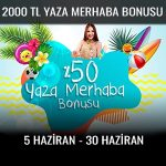 Trbet 2000 TL merhaba bonusu