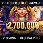 Trbet 2.700.000 Euro ödüllü slot turnuvası