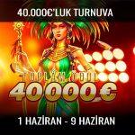Trbet 40.000 Euro ödüllü turnuva