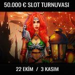 Trbet 50.000 Euro ödüllü slot turnuvası