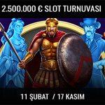 Trbet para ödüllü slot turnuvaları
